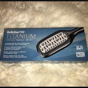 Babyblisspro- Titanium thermal paddle brush